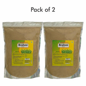 Brahmi Powder - 1 kg powder - Pack of 2 - Ayur Space