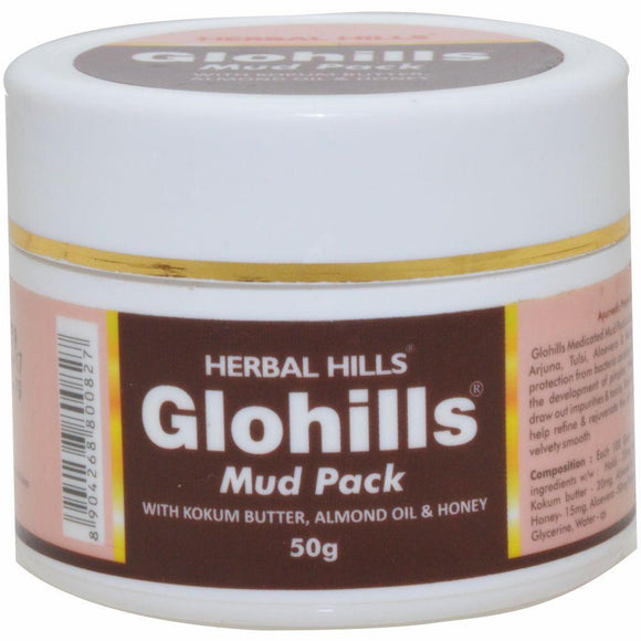 Glohills Mud Pack 50 g - Ayur Space