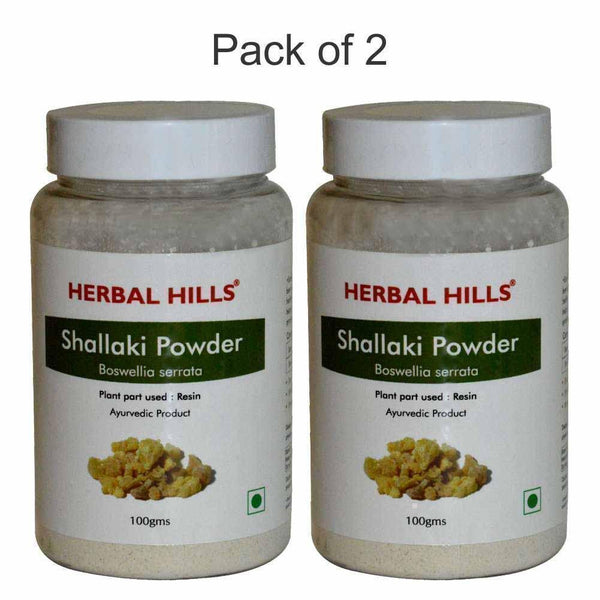 Shallaki powder - 100 gms - Pack of 2 - Ayur Space