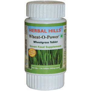 Wheat-O-Power (Wheatgrass) Pack of 120 Tablets - Ayur Space
