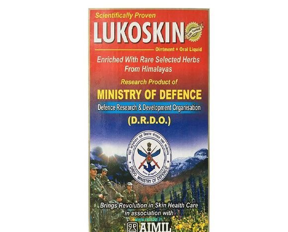 AIMIL -  Lukoskin Combo (Ointment + Oral) - Ayur Space
