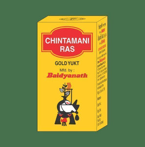 Baidyanath Chintamani Ras Gold Yukt Tablet - Ayur Space