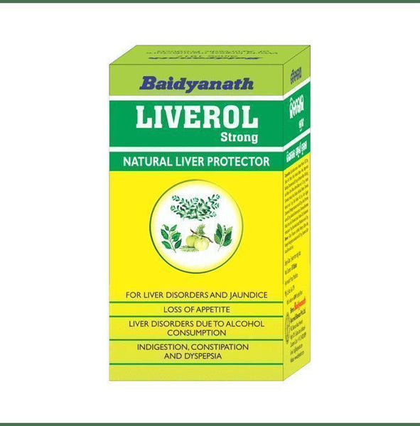 Baidyanath Liverol Strong Tablet-Ayur Space