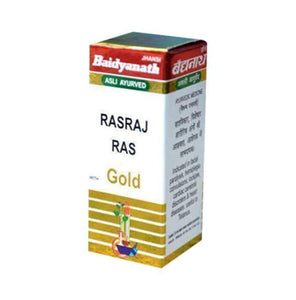 Baidyanath Rasraj Ras Gold Tablet - Ayur Space