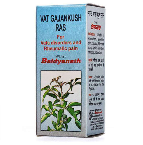 Baidyanath Vat Gajankush Ras Tablet - Ayur Space