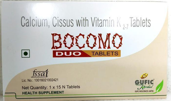 Gufic Bocomo Duo 15Tablets - Ayur Space