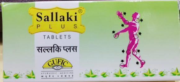 Sallaki Plus Tablets 30Tablets - Ayur Space