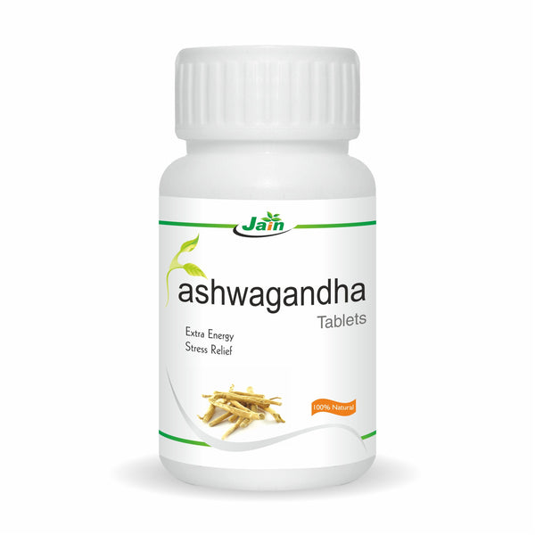 Tablets - Shree Jain Ashwagandha Tablets - 60s