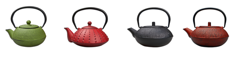 Cast-Iron Teapots