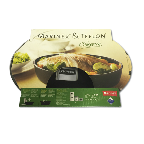 Marinex Teflon Oval Roasting Dish 2.4L (300x210x63mm)