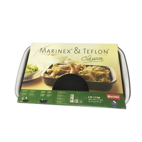 Marinex Teflon Rectangular Roasting Dish 2.2L (346x207x52mm)