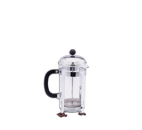 Regent French Press/Coffee Plunger Chrome & Glass (380ml)
