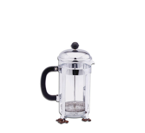 Regent French Press/Coffee Plunger Chrome & Glass (900ml)