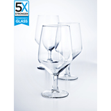 Hostelvia Abadia Tempered Beer Glasses (Set of 6)