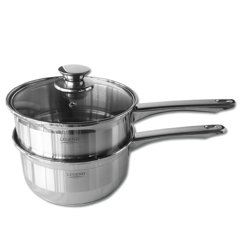 Legend 18cm Stainless Steel Double Boiler