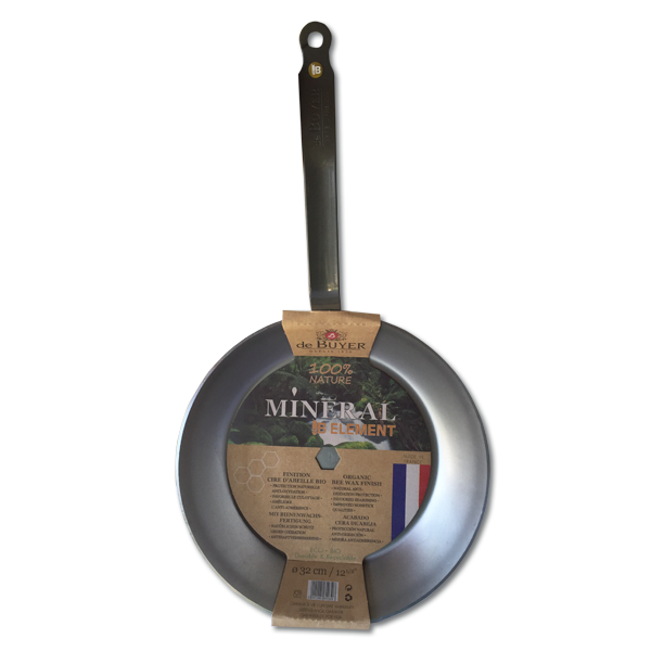 De Buyer Mineral B Element Frying Pan | Kitchen Junky | South Africa