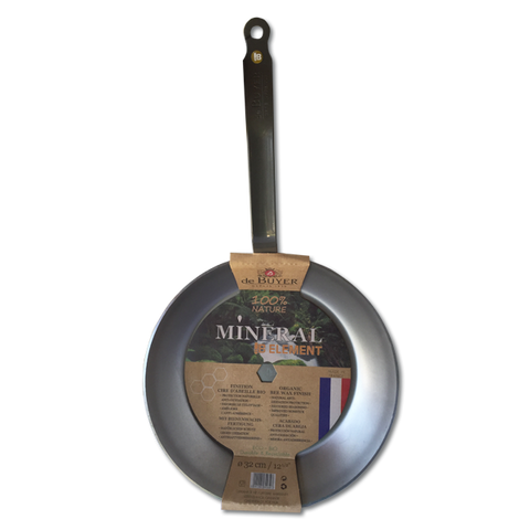 De Buyer Mineral B Element Frying Pan (320mm)