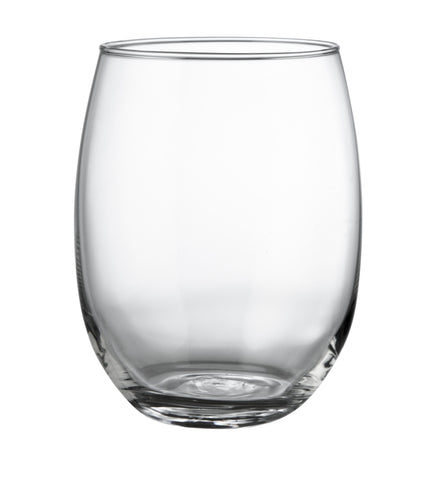 Hostelvia Syrah Tempered Stemless Wine Glass (Set of 6)