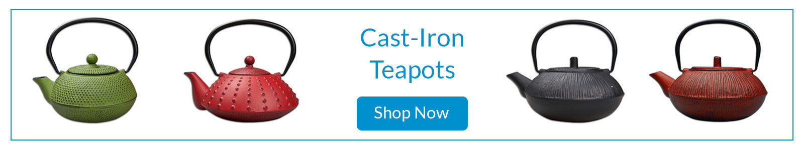 Cast-iron traditional Eastern Teapots