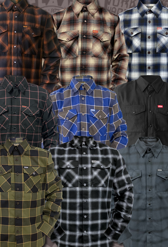 Docs Motorcycle Parts DIXXON Flannel Shirt
