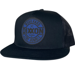 Corpo Blue (Synthetic Leather Patch) Hat