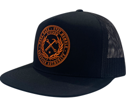 Orange Crested Hat (More Color Options)