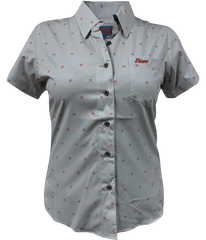 Women's Grey Finney Short Sleeve
