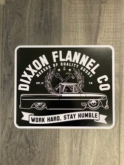 "Dixxon Metal Sign - Truck (12""x10"")"