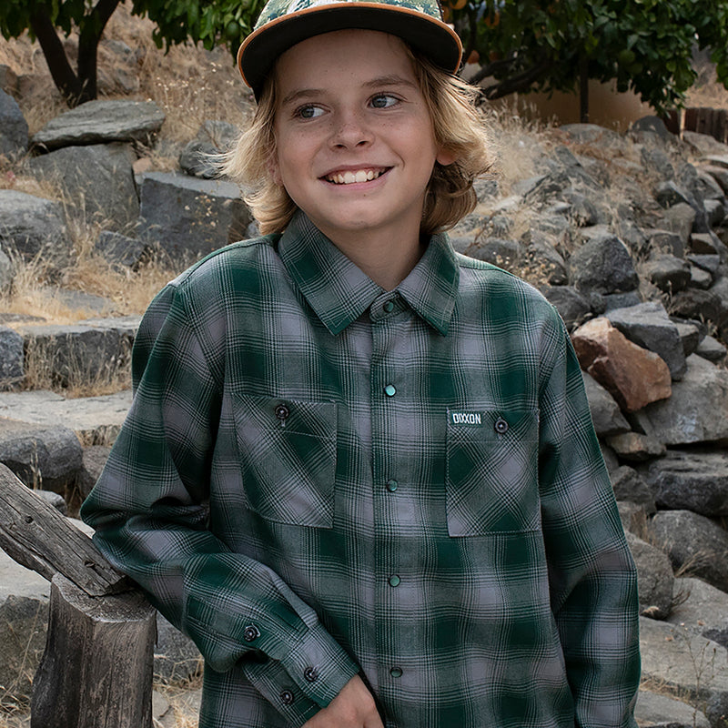 Youth Bixby Flannel