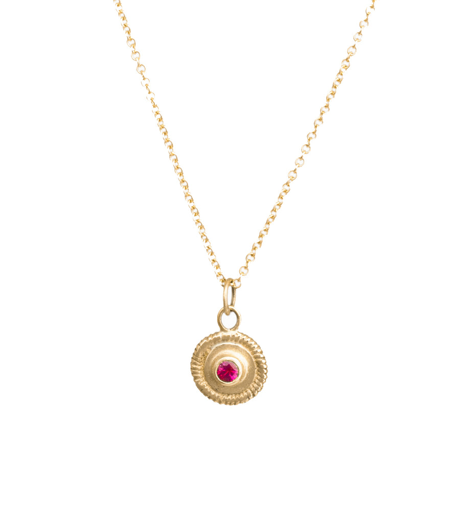 COLLIER COSMOS ROND