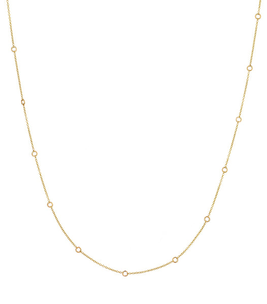 CHAIN NECKLACE SMALL CERCLES