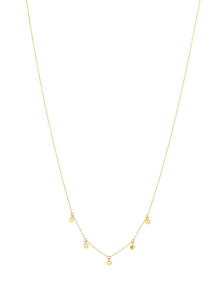 CRAZY GOLD 5 NECKLACE