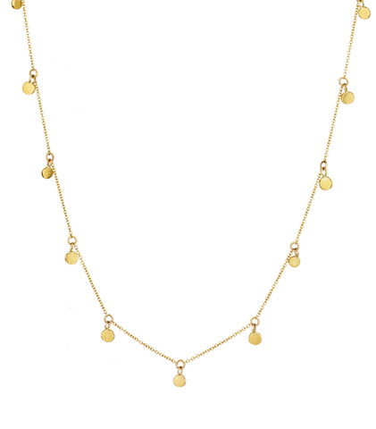 COLLIER CRAZY GOLD