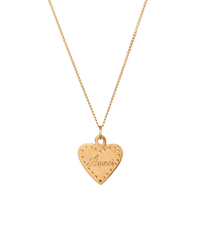 NECKLACE MEDAILLE HEART