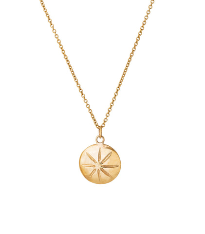 STAR MEDAL NECKLACE