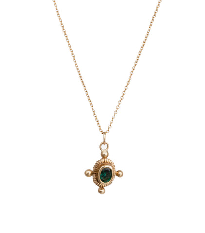 STAR OVAL ROMA NECKLACE