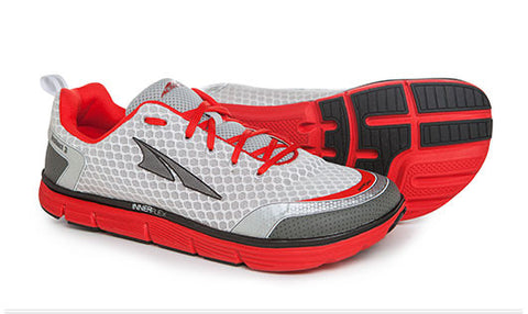Instinct 3.0 Men's - Silver/Red
