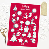 Personalised Christmas Memories Advent Calendar