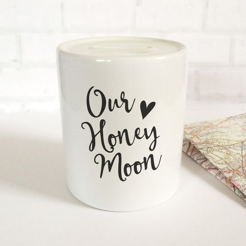 'Our Honeymoon' Money Jar