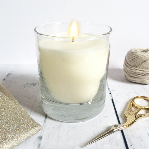Scented Candle Glass Jar - Sarah Catherine