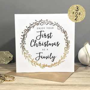 Family Christmas Card Sarah Catherine