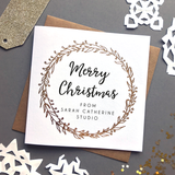 Sarah Catherine Personalised Corporate Christmas Card