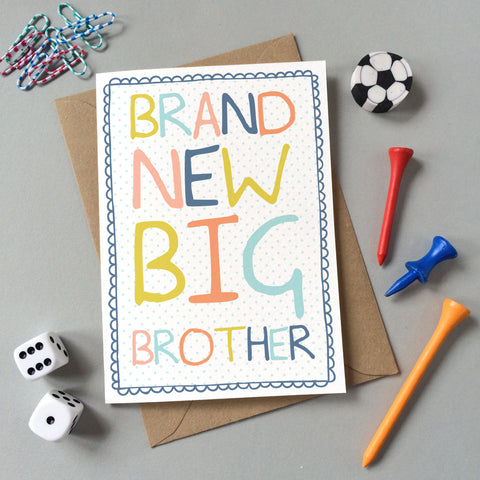 Brand New Big Brother Card