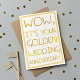 Special Wedding Anniversary Card