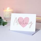 Sarah Catherine Mummy Heart Birthday Card