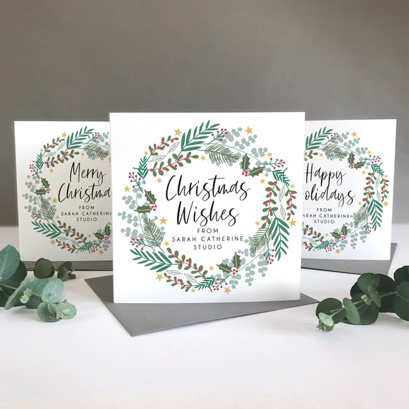 Company Corporate Christmas Cards Sarah Catherine
