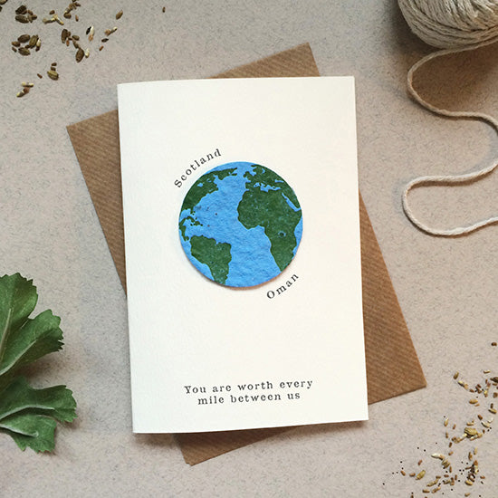 Sarah Catherine Plantable Long Distance Card