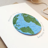 Plantable Globe Teacher Thank You Card Bloom - Sarah Catherine