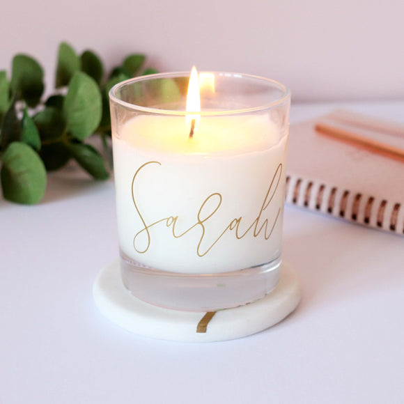 Sarah Catherine Personalised Candle