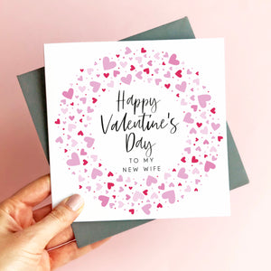 New Wife Valentine's Card